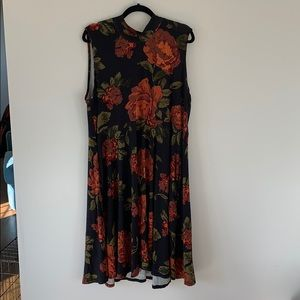 Agnes and Dora floral fit and flare dress, NWT